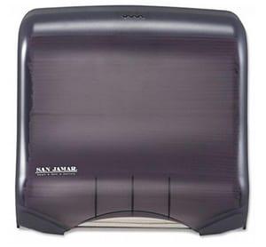 San Jamar Ultrafold™ Towel Dispensers in Black SANT1750TBKRD