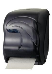 San Jamar Oceans® Smart System with IQ Sensor Towel Dispensers in Black SANT1490TBK