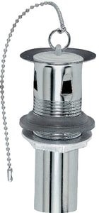Keeney 1-1/4 in. 22 ga Plated Pullout Plug Chrome KEE1061PC