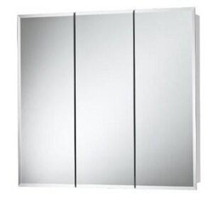 Jensen Horizon Beveled Mirror Medicine Cabinet in Black R255236