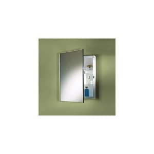 Jensen Styleline 18 in. Float Glass Surface Mount Medicine Cabinet RM18369301