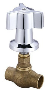 Central Brass 1/2 in. Tile with Direct Sweat Inlet Valve C0607CD