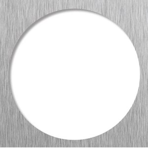 Tile Redi USA Redi Drain® Square Trim Drain in Brushed Nickel TDPSQTBN