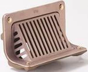 Jay R. Smith 1000 Series 2 in. Threaded 45 Degree Roof Drain with Angle Grate S1530T02