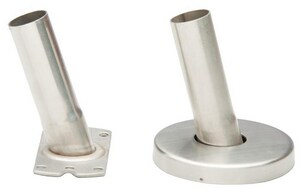 PROFLO® Curved Shower Rod Flange Kit in Polished Chrome PFCSRIKCP