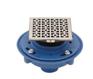 California Faucets StyleDrain® Traditional Grid Satin Nickel C9170ASN