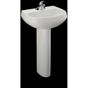 Kohler Wellworth® 1-Hole Bathroom Rectangular Lavatory Sink K2293-1