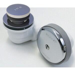 Watco Plastic Toe-Tap Drain in Brushed Nickel W601FAABSBN