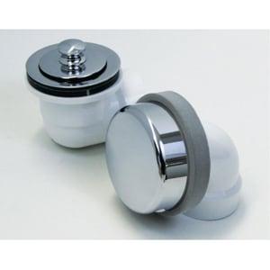 Watco Innovator® 900 Series Plastic Lift & Turn Drain in White W901LTPVC