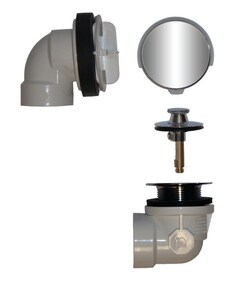 LSP Products Group Rapid Fit® Brass Lift & Turn Drain in Oil Rubbed Bronze LR0987