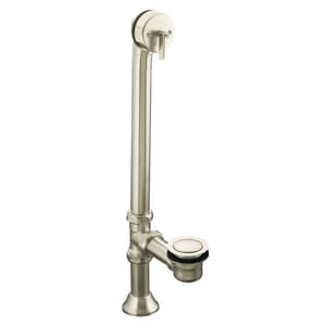 Kohler Iron Works® Brass Trip Lever Drain in Vibrant Brushed Nickel K7178-BN