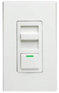 Leviton IllumaTech® 1000W 1-Pole Dimmer in White LIPI101LZ