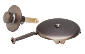 PROFLO® Brass Lift & Turn Drain in Oil Rubbed Bronze PFWO503