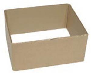 William H. Harvey 6 x 11 x 13 in. Cardboard Tub Box H013805