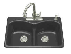 Kohler Langlade® 1-Hole Drop-In Kitchen Sink with Sink ...
