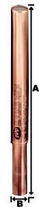 Precision Plumbing Products 3/4 in. Copper Copper Sweat Water Hammer Arrestor PSWA750B