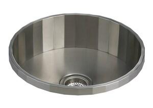 KOHLER Brinx® 18-3/4 x 18-3/4 in. Stainless Steel Drop-in Bar Sink K3674-NA