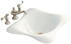 Kohler Dolce Vita® Self-rimming Bathroom Sink in White K2815-0