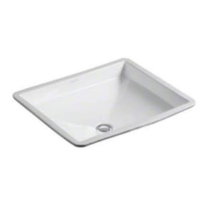 Kallista Barbara Barry Undermount Bathroom Sink in Stucco White KP72027000