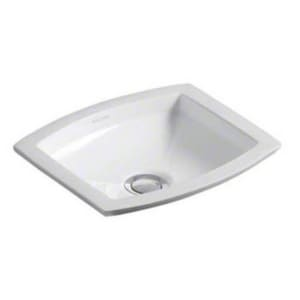 Kallista Barbara Barry Undermount Bathroom Sink in Stucco White KP72026000