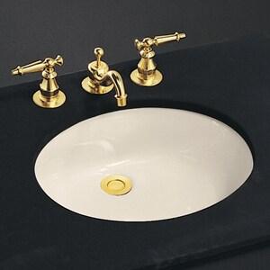Kohler Caxton® Undermount Bathroom Sink in Almond K2210-G-47