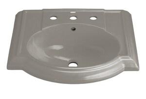 KOHLER Devonshire® Pedestal Vessel in Cashmere K2287-8-K4