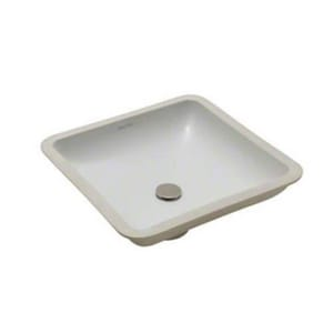 Kallista Laura Kirar Undermount Bathroom Sink in Stucco White KP72040WO0