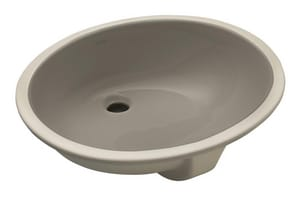 Kohler Caxton® Undercounter Lavatory Sink with Clamp  Cashmere K2211-K4