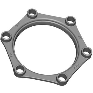 PROSELECT® 3 in. Mechanical Joint Ductile Iron C153 Gland IMJG