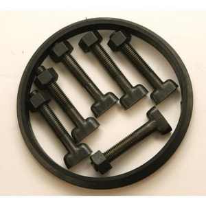IMJBGP Series 18 in. Mechanical Joint C153 Ductile Iron and SBR Bolt Gasket Pack (Less Gland) IMJBGP18 at Pollardwater