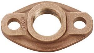 Matco-Norca 2 in. Bronze Oval Meter Flange M431T08LF