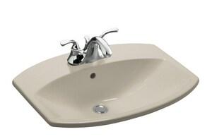 Kohler Cimarron® 3-Hole Drop-In Bathroom Sink in Sandbar K2351-4-G9
