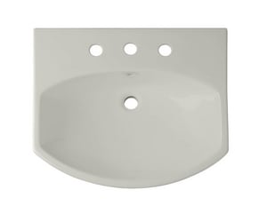 KOHLER Cimarron® Pedestal Vessel in Ice™ Grey K2363-8-95