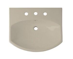 Kohler Cimarron® 3-Hole Pedestal Bathroom Sink in Sandbar K2363-4-G9