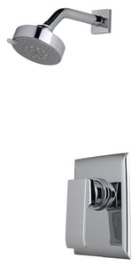 ROHL® Modern Caswell™ Shower Trim Kit with Single Lever Handle and Multifunction Showerhead in Polished Chrome RCAKIT31LMAPC