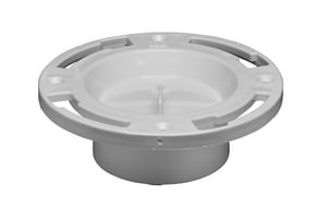 Oatey Easy Tap® 3 x 4 in. Closet Flange with Test Cap O43505