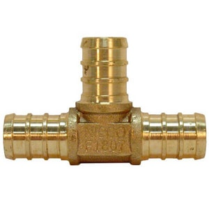 NIBCO 3/4 x 1/2 x 1/2 in. Dezincification Resistant Brass Insert NNP11RDFDD