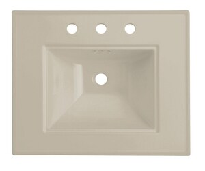 Kohler Memoirs® 24 x 20 in. 1-Hole Basin Only Lavatory Sink in Sandbar K2345-1-G9