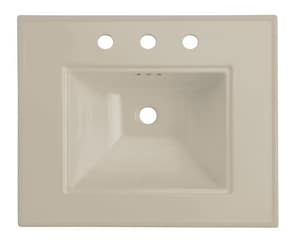 Kohler Memoirs® 24 x 20 in. 3-Hole 8 in. Centers Basin Only Lavatory Sink in Sandbar K2345-8-G9