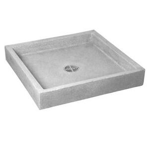 Fiat Products Berkeley 24 x 24 in. Mop Basin in Grey FSB2424501