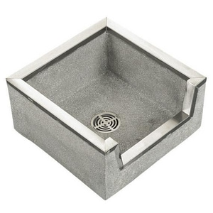 Fiat Products Stockton 36 x 24 in. Mop Basin in Grey FTSB3003501