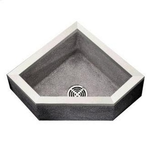 Fiat Products Stockton 24 x 24 in. Mop Basin in Grey FTSBC6010501