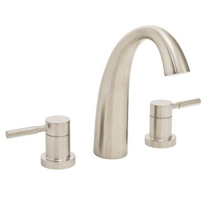 Speakman Neo™ 3-Hole Double Lever Handle Roman Tub Faucet in Brushed Nickel SSB1032BN
