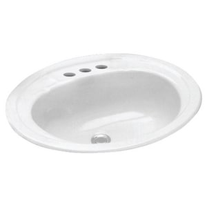 PROFLO® Getchell Drop-in Basin in White PFS20174WH
