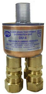 Precision Plumbing Products 1/2 x 5/8 in. 4-Opening Distribution Unit with Fitting PDU4625
