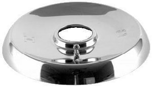 Brass Craft Stainless Steel Shallow Box Escutcheon in Chrome BSWD0402