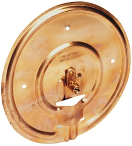 Thomas & Betts 7-1/2 in. Copper Grounded Plate TGP100