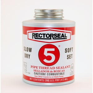 Rectorseal No. 5® 16 oz PVC Yellow Pipe Joint Compound REC25431 at Pollardwater