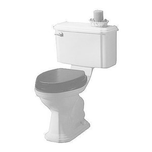 Kallista Stafford™ Colored Toilet Seat in Stucco White KP70023AD0
