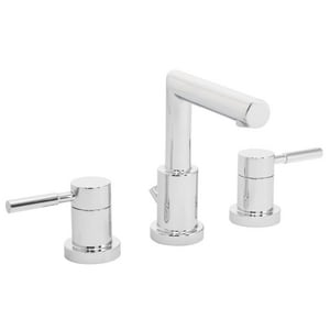 Speakman Neo™ 1.5 gpm Double Lever Handle Centerset Widespread Lavatory Faucet in Polished Chrome SSB1021